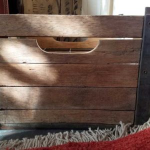 Antique Milk Crate Great Finds and Design Pewaukee WI Shop