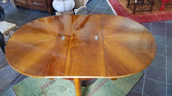 Art Deco Metamorphic Expansion Dining Table