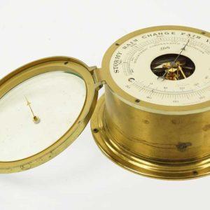 Aug Schatz & Sohne Ship Barometer