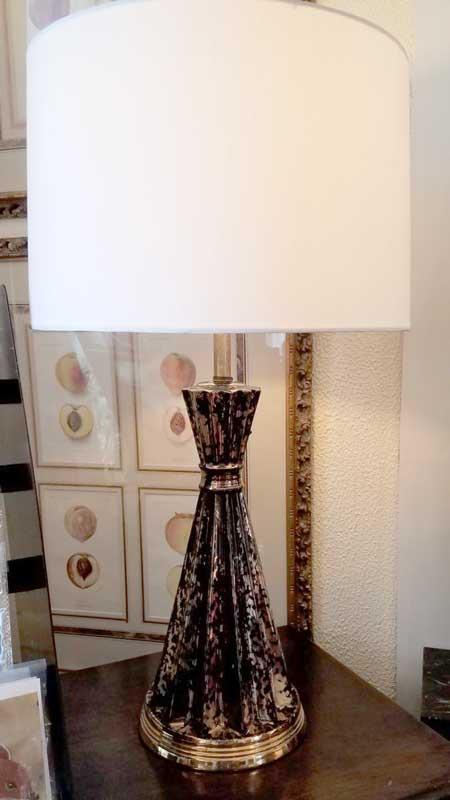Black and Gold Sputnik Lamp