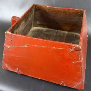 Chinese Dovetailed Water Bucket