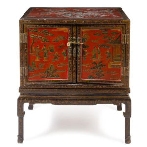 Chinese Lacquered Cabinet