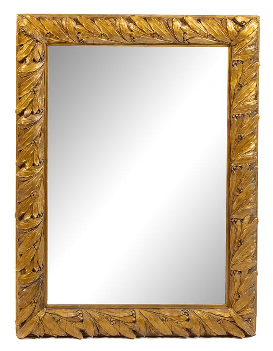 Continental Giltwood Mirror | Pewaukee Furniture | Great Finds & Design
