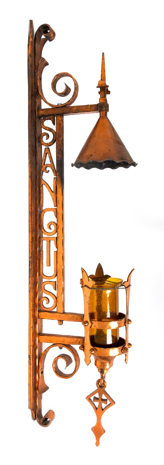 Continental Wrought Copper Sanctuary Lantern | Great Finds & Design | Pewaukee, WI
