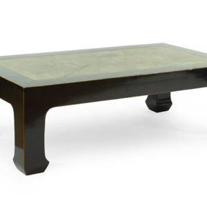 Ebonized Wood Cocktail Table Great Finds and Design Pewaukee