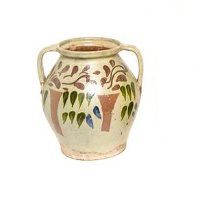 Flowered Urn Great FInds and Design Antique Pottery