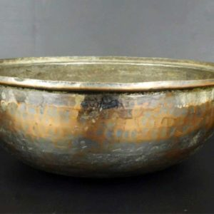 French Copper Bowl