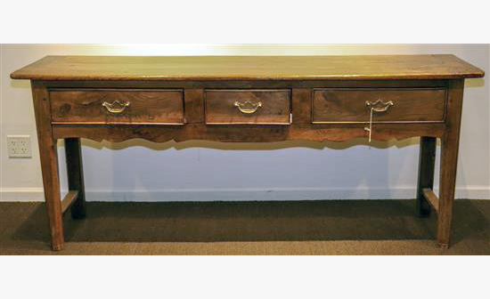 George III Style Oak Sideboard Antiques in Pewaukee WI Great Finds and Design