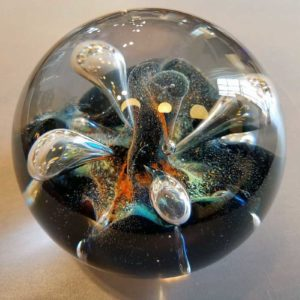 Glass Paperweight by Colin Terris