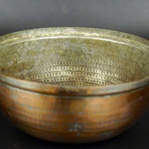 Hand Hammered French Copper Bowl