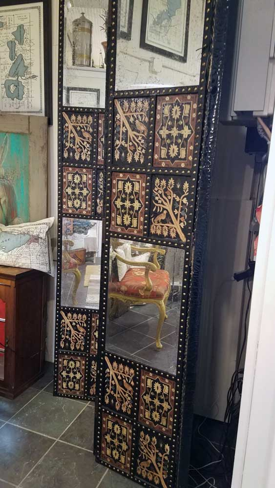 Hand-painted Turkish Screen Great Finds and Design Pewaukee WI