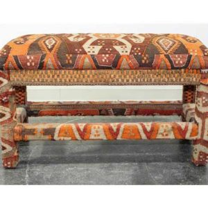 Kilim Upholstered Bench