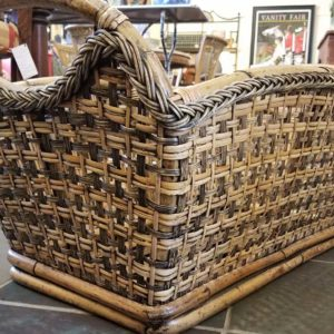 Large Bamboo Basket Home Decor Pewaukee WI