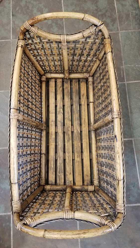 Large Bamboo Basket Home Decor Pewaukee WI