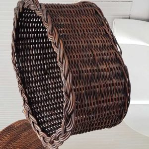 Oval Basket Decorative and Storage Great Finds and Design Pewaukee WI