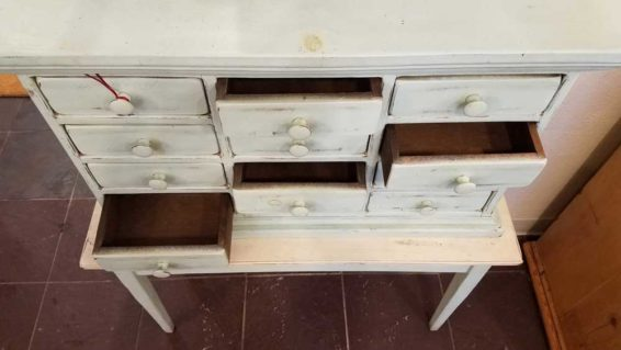 Painted Postmaster's Desk | American Furniture Pewaukee, WI