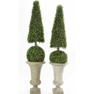 Pair of Contemporary Topiaries