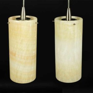 Pair of Onyx Pendant Lights Great Finds and Design Pewaukee