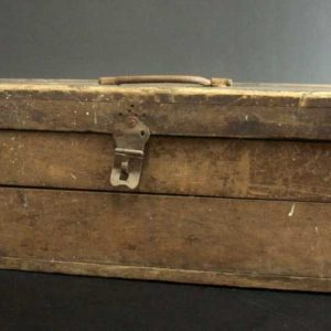 Rustic Antique Toolbox