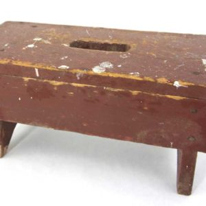 Rustic Red Step Stool