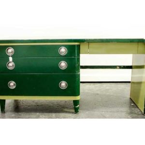Simmons Metal Art Deco Desk