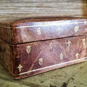 Small Italian Leather Box