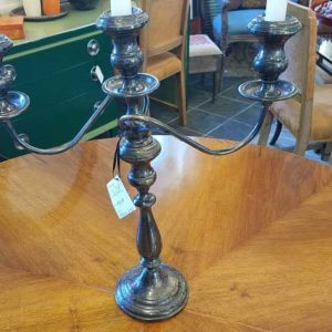 Sterling Silver Weighted 3-Light Candelabra