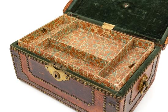 Studded Leather Jewelry Box | Great Finds & Design | Pewaukee Gifts