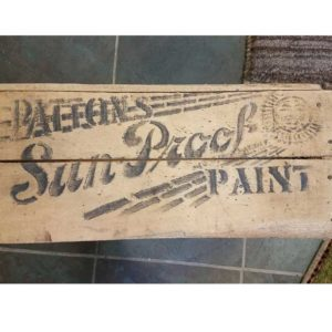 Sun-Proof Wooden Paint Crate