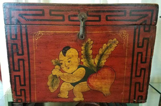 Tibetan Grooms Box Gift and Antiques Great Finds and Design