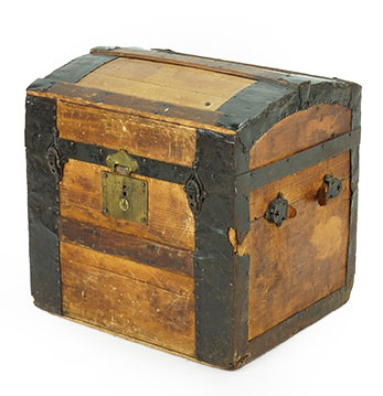 Wood Antique Trunk Great Finds and Design Pewaukee