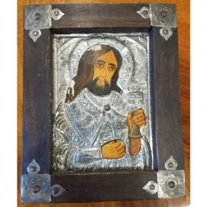 Wooden Orthodox Oklad Icon